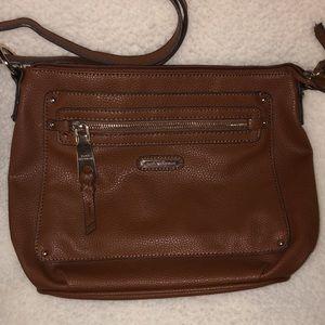 Dana Buchman faux leather crossbody purse cute